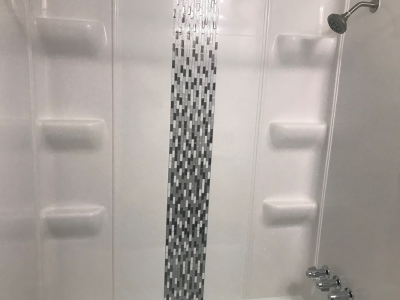 1 bed shower new